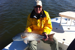 redfish caught new smyrna beach