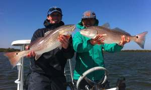 redfish caught in new smyrna