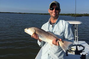 redfish guided charter near new smyrna
